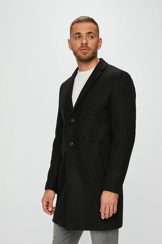 černá Premium by Jack&Jones - Kabát Pánský