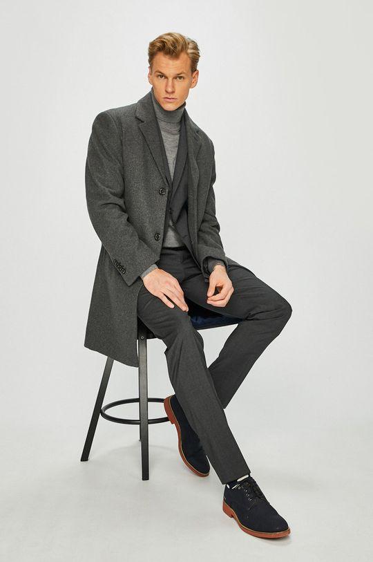 Pierre Cardin - Kabát šedá