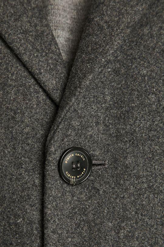 šedá Pierre Cardin - Kabát