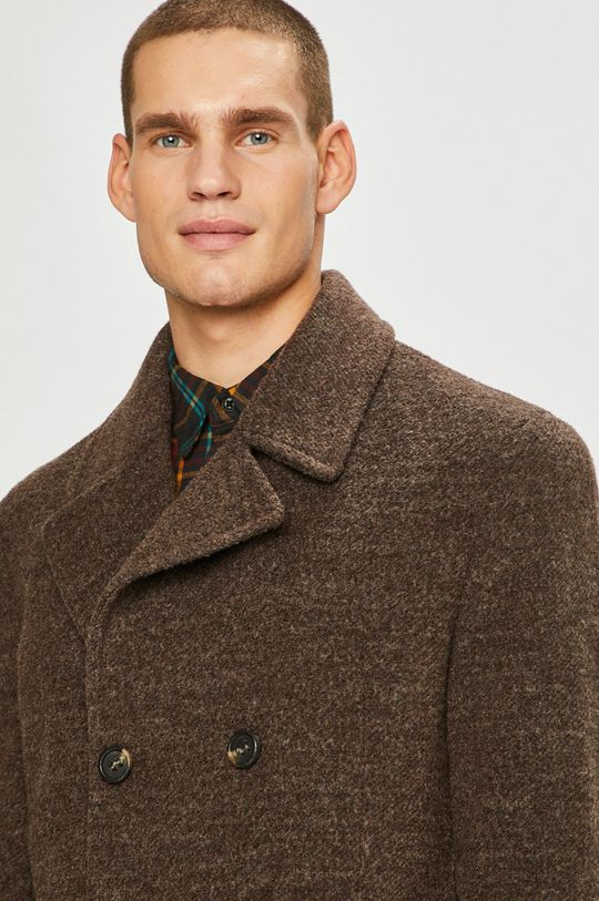 Pierre Cardin - Kabát hnědá
