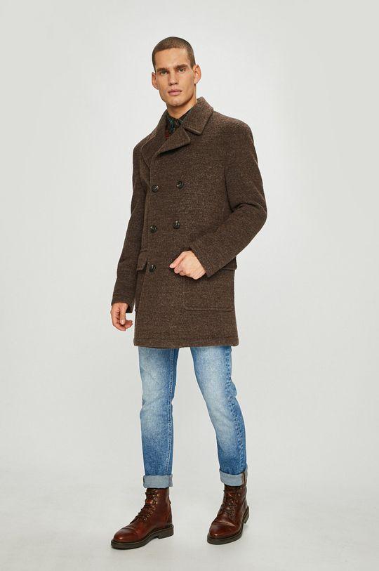 Pierre Cardin - Kabát  50% Polyester, 50% Vlna