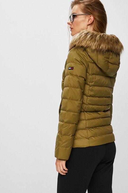 Tommy Jeans - Péřová bunda Podšívka: 100% Polyester Výplň: 30% Chmýří, 70% Chmýří Hlavní materiál: 100% Polyester
