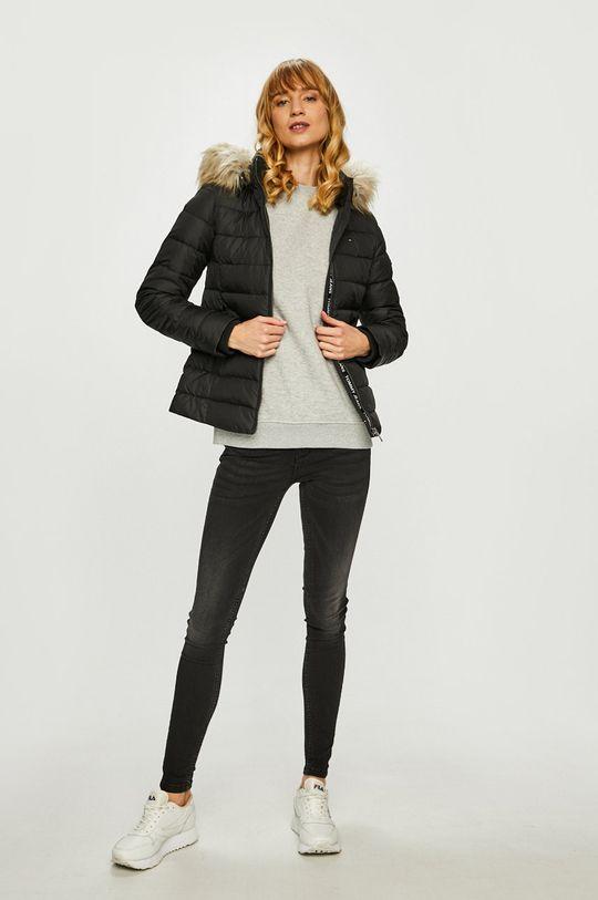 Tommy Jeans - Пухено яке черен