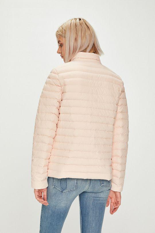 pastelově růžová Calvin Klein Jeans - Bunda oboustranná péřová