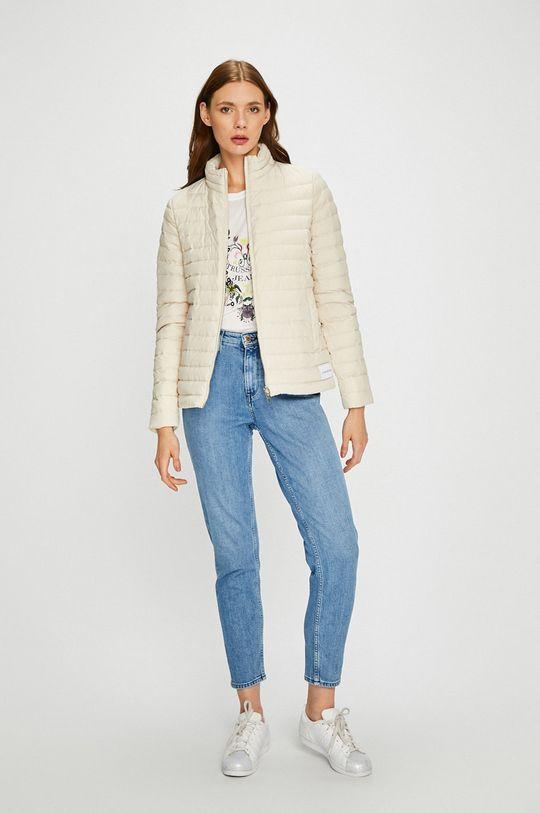 Calvin Klein Jeans - Пухено яке с две лица  Пълнеж: 10% Пера, 90% Пух Основен материал: 100% Полиестер