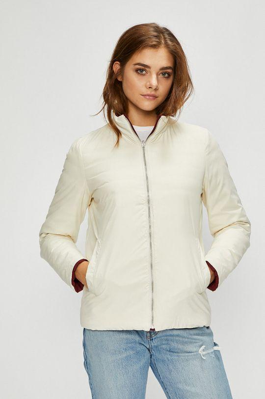 Calvin Klein Jeans - Bunda oboustranná péřová mahagonová