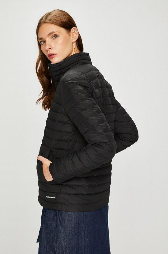 черен Calvin Klein Jeans - Пухено яке с две лица