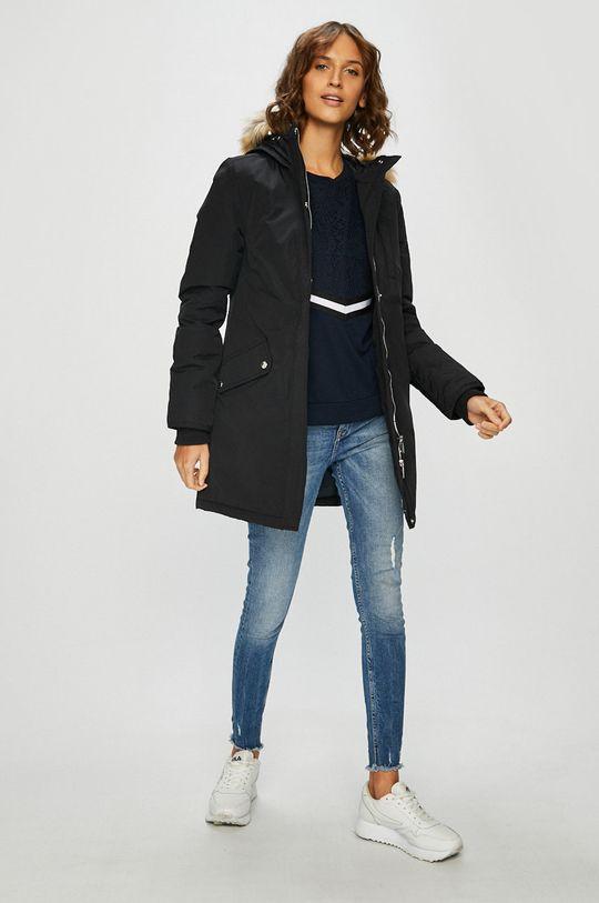 Tommy Jeans - Páperová bunda čierna