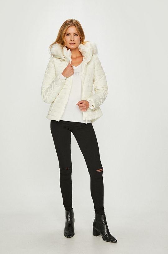 Guess Jeans - Kurtka Lorelie biały