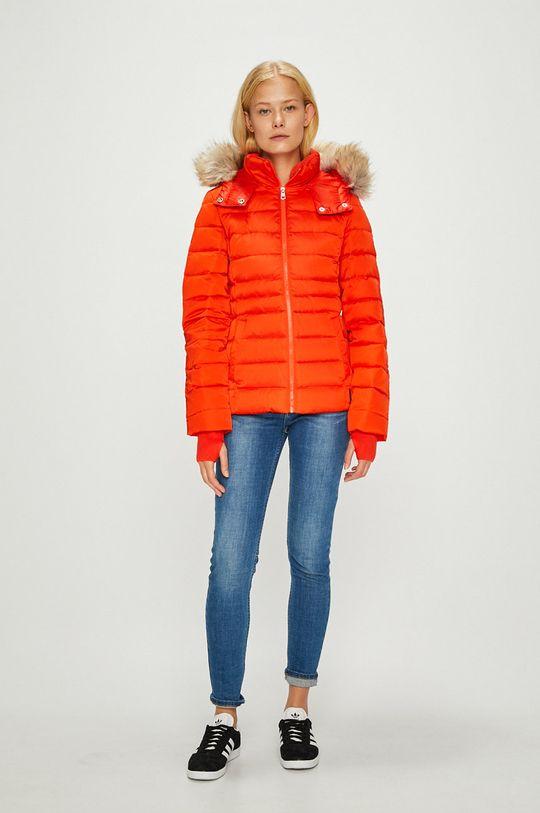 Calvin Klein Jeans - Geaca de puf mandarin