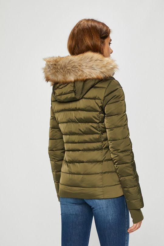 Calvin Klein Jeans - Péřová bunda Podšívka: 100% Polyester Výplň: 30% Peří, 70% Chmýří Hlavní materiál: 100% Polyester Umělá kožešina: 93% Akryl, 7% Polyester
