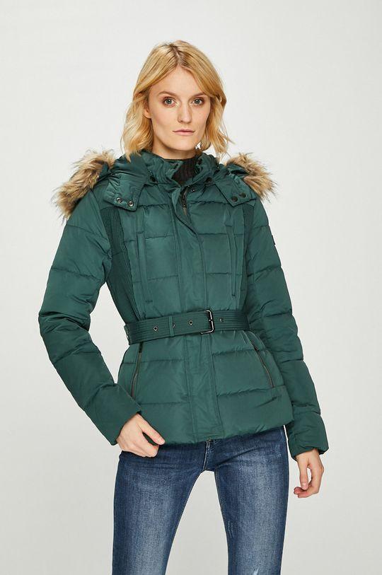 зелен Pepe Jeans - Пухено яке Olivia Жіночий