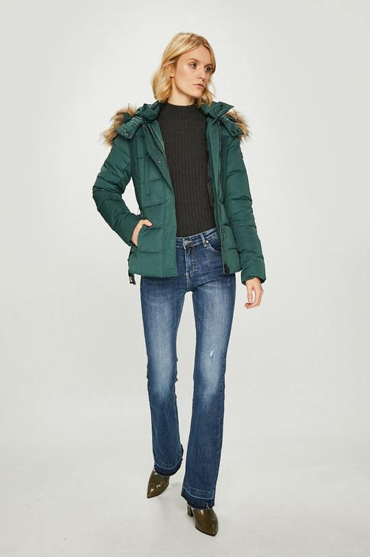 Pepe Jeans - Пухено яке Olivia зелен