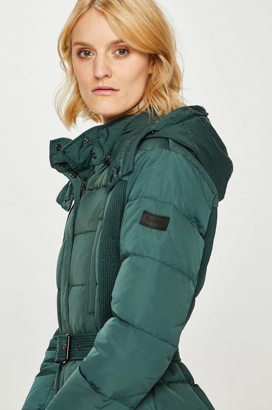 зелен Pepe Jeans - Пухено яке Olivia