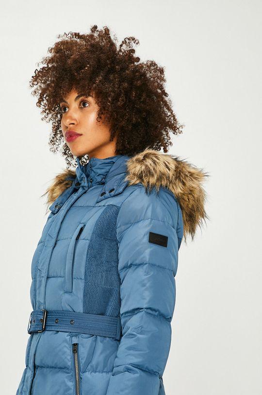 modrá Pepe Jeans - Péřová bunda Dámský