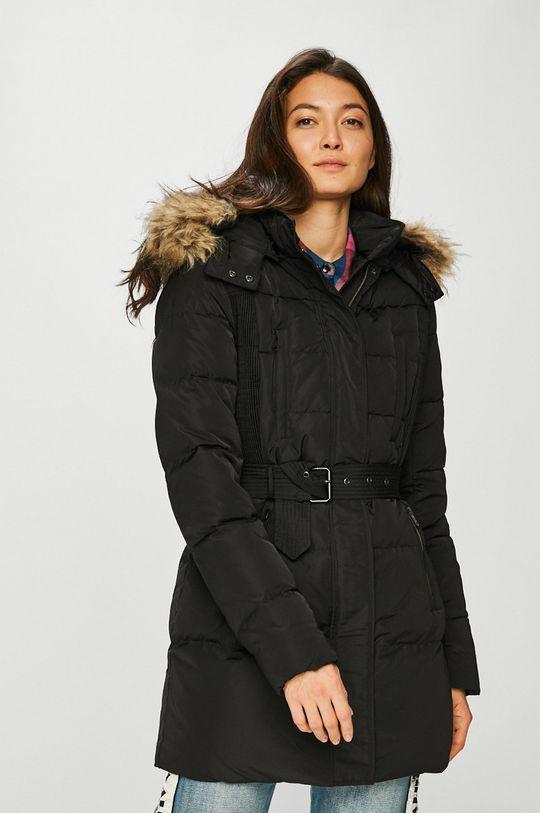černá Pepe Jeans - Péřová bunda Dámský