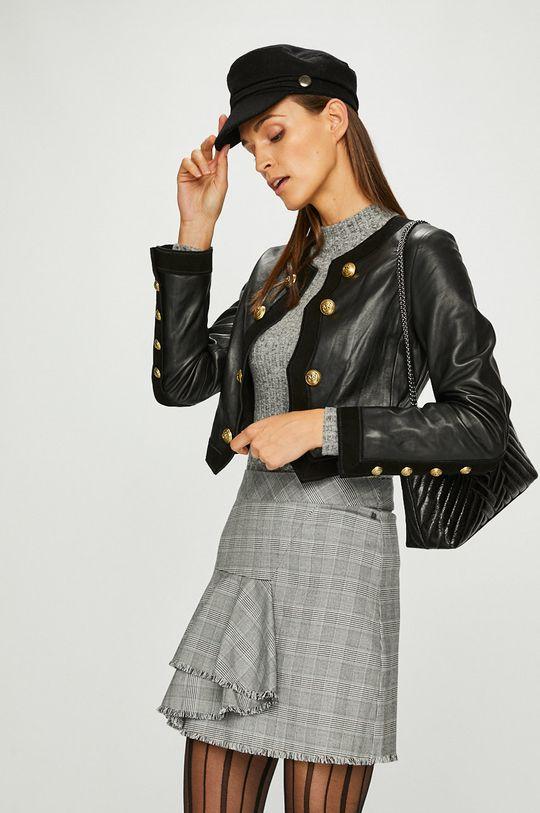 černá Pinko - Kožená bunda