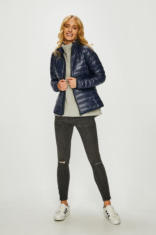 adidas Originals - Rövid kabát sötétkék