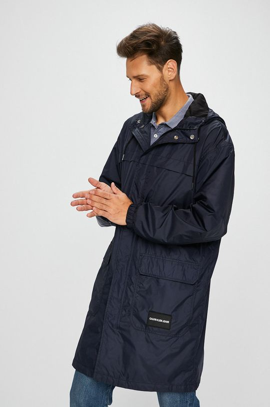 námořnická modř Calvin Klein Jeans - Kabát Pánský