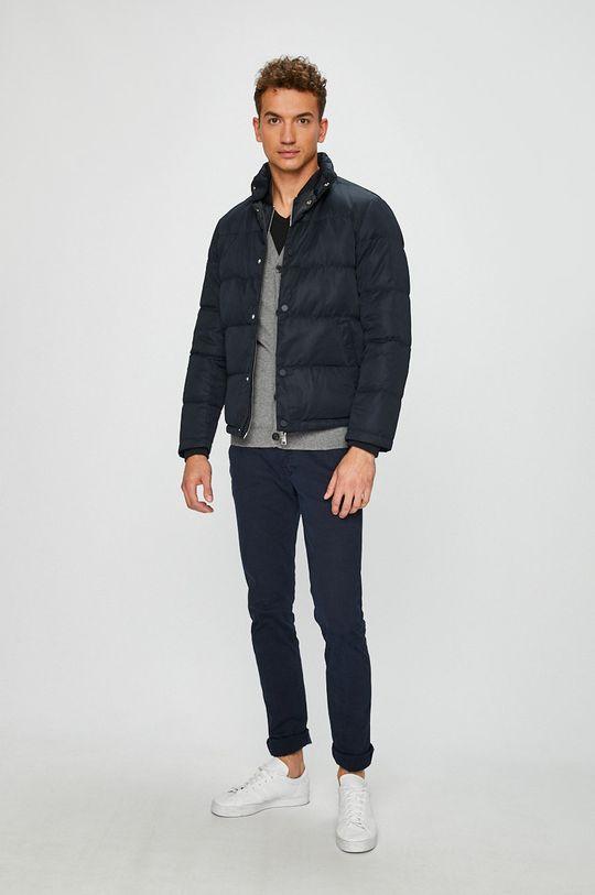 Armani Exchange - Páperová bunda tmavomodrá