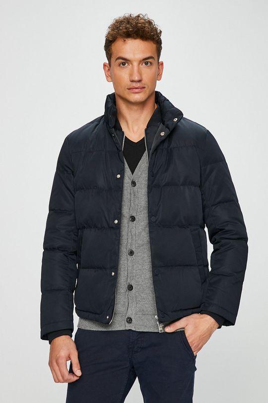 tmavomodrá Armani Exchange - Páperová bunda
