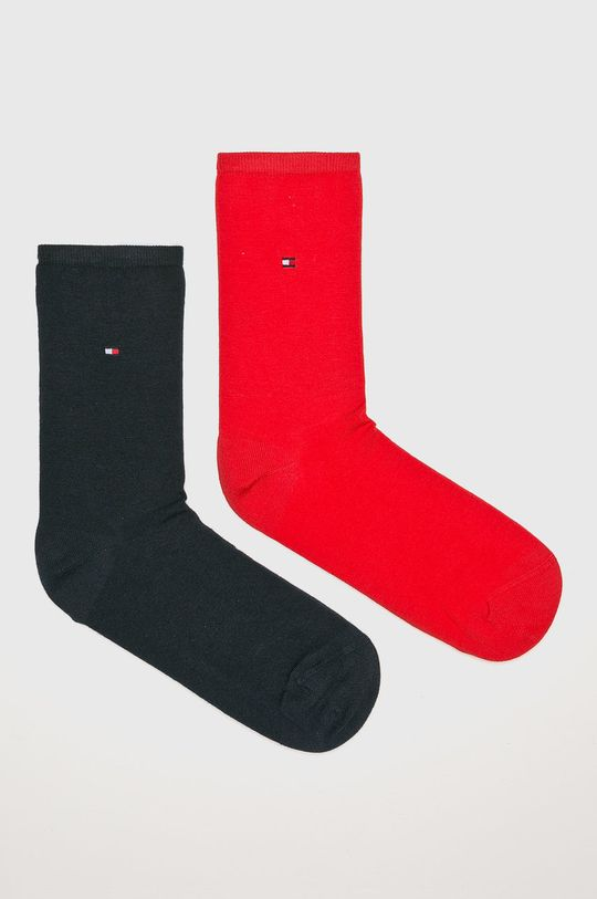 czerwony Tommy Hilfiger - Skarpetki (2-pack) Damski