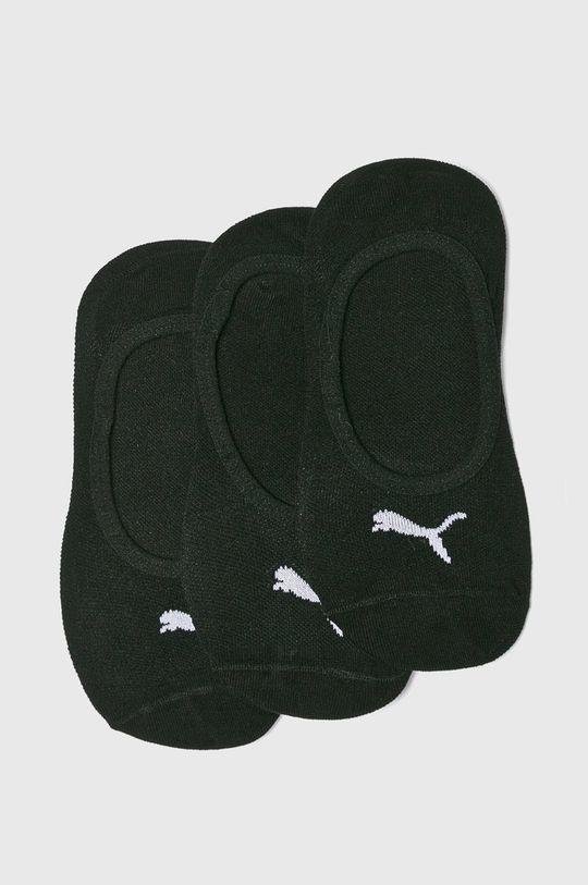 černá Puma - Ponožky (3-pack) Dámský