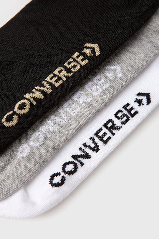 Converse - Sosete (3-pack) gri deschis
