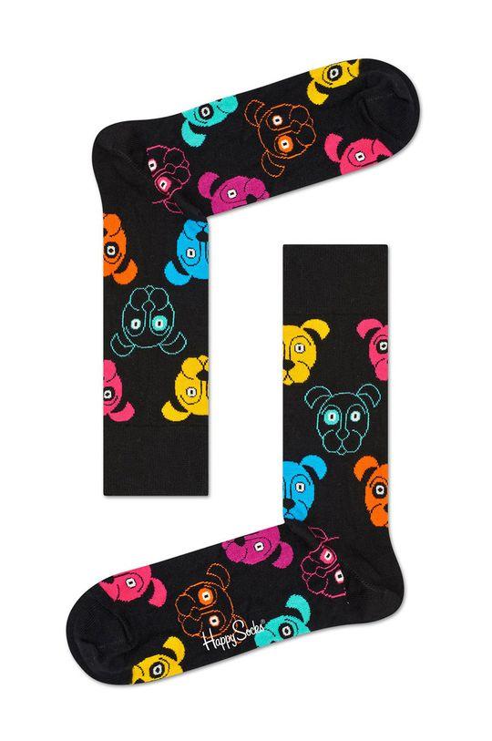 czarny Happy Socks - Skarpetki Dog Damski