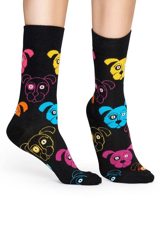 Happy Socks - Skarpetki Dog czarny
