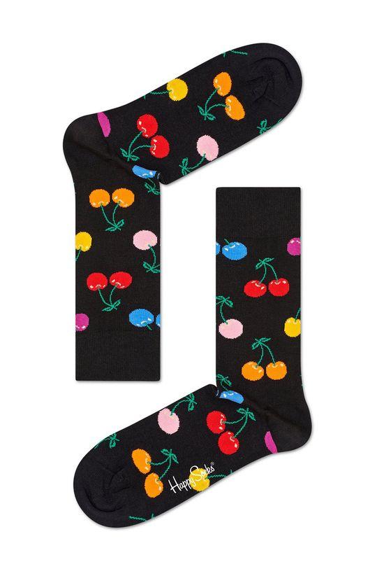 czarny Happy Socks - Skarpetki Cherry Damski