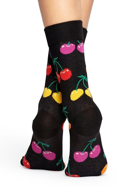 Happy Socks - Skarpetki Cherry czarny