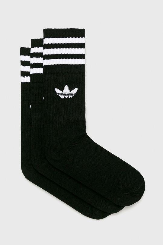 černá adidas Originals - Ponožky (3-pack) Dámský