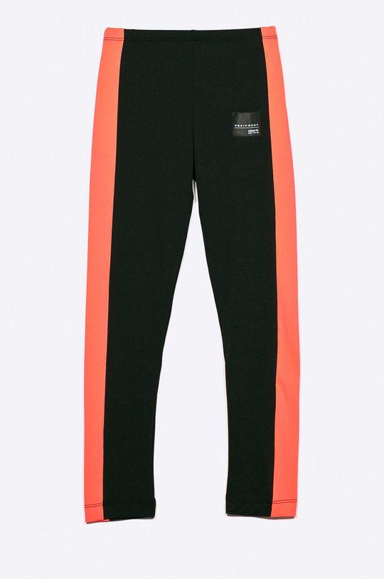 čierna adidas Originals - Detské legíny 128-170 cm Dievčenský