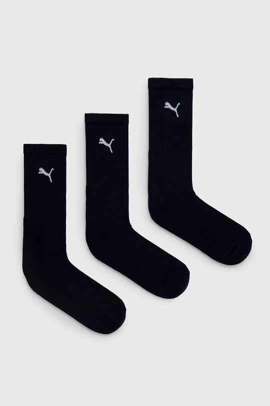 tmavomodrá Puma - Ponožky (3-pak) Pánsky