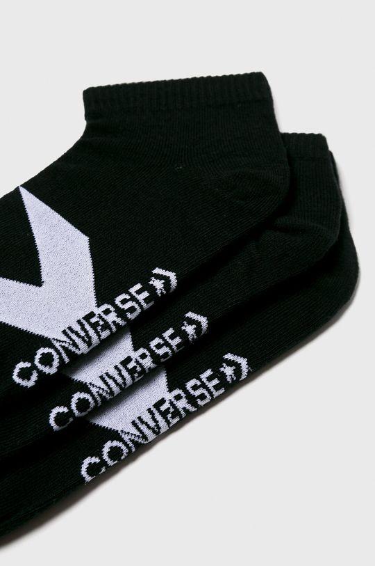 Converse - Ponožky (3-pack) černá
