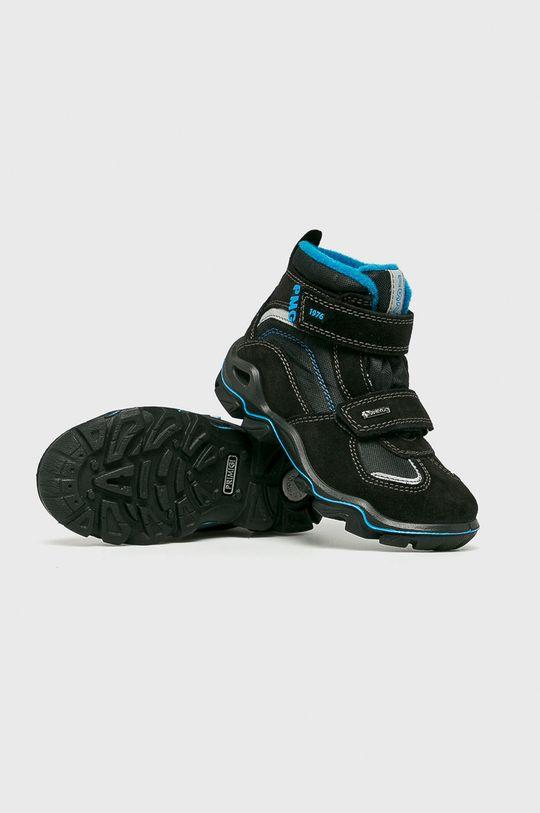 Primigi - Dětské boty Svršek: Textilní materiál, Semišová kůže Vnitřek: Textilní materiál Podrážka: Umělá hmota