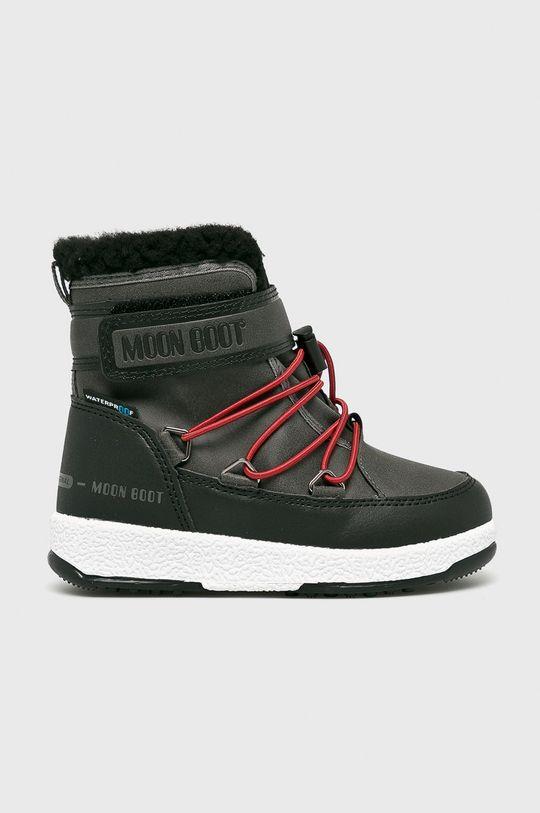 sivá Moon Boot - Detské topánky Chlapčenský