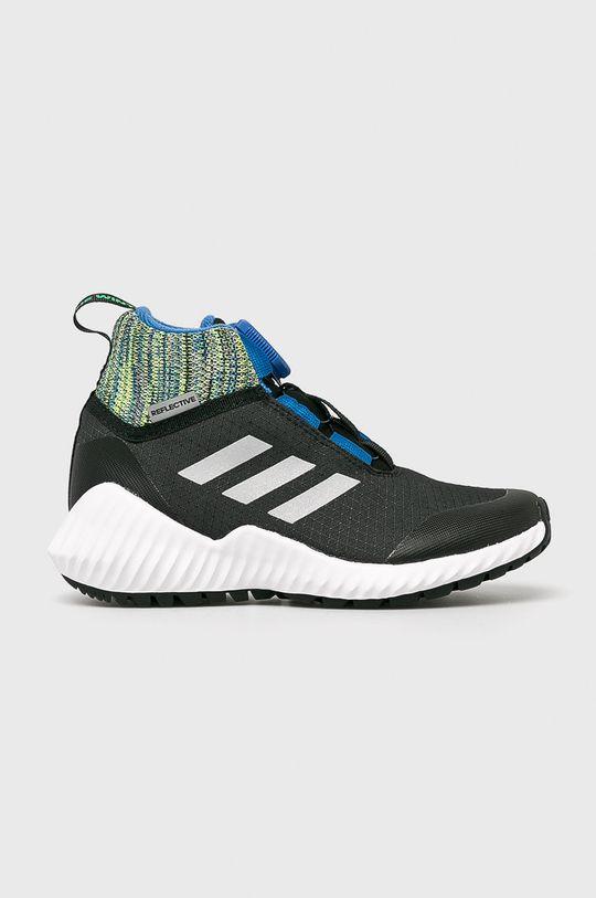 čierna adidas Performance - Detské topánky FortaTrail Boa Btw Chlapčenský