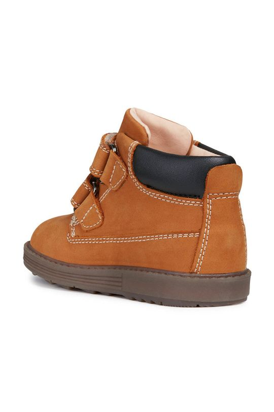zlatohnedá Geox - Detské topánky