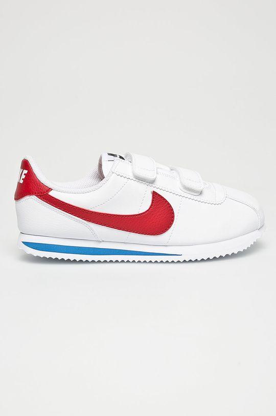 bílá Nike Kids - Dětské boty Cortez Basic Sl Chlapecký