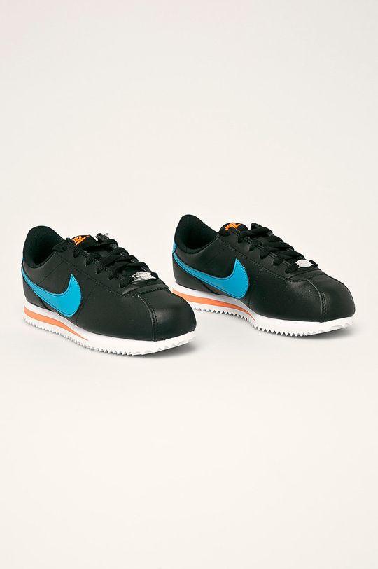 Nike Kids - Dětské boty Cortez Basic Sl černá