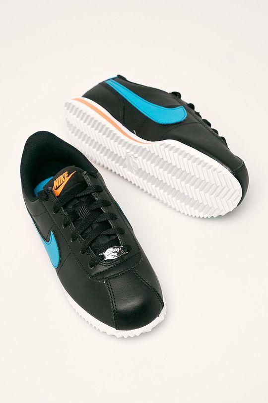 černá Nike Kids - Dětské boty Cortez Basic Sl