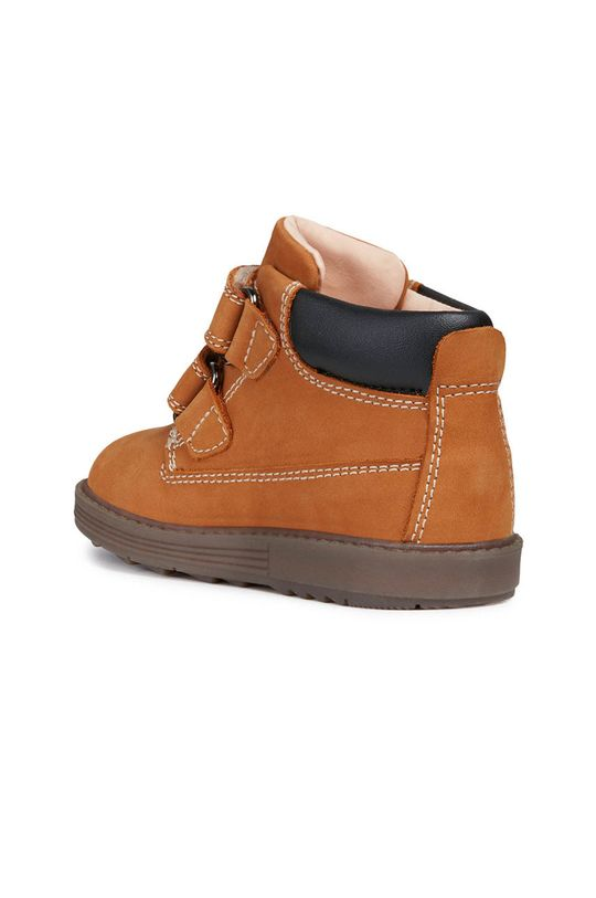 zlatohnědá Geox - Dětské boty