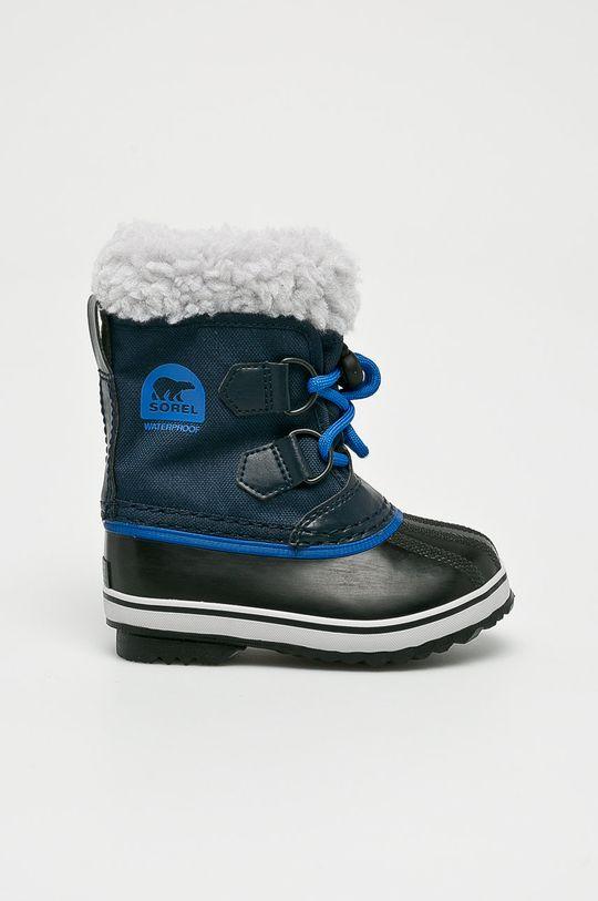 tmavomodrá Sorel - Detské topánky Yoot Pac Chlapčenský