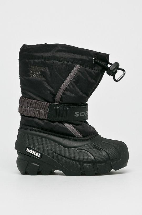 negru Sorel - Pantofi copii Flurry De băieți