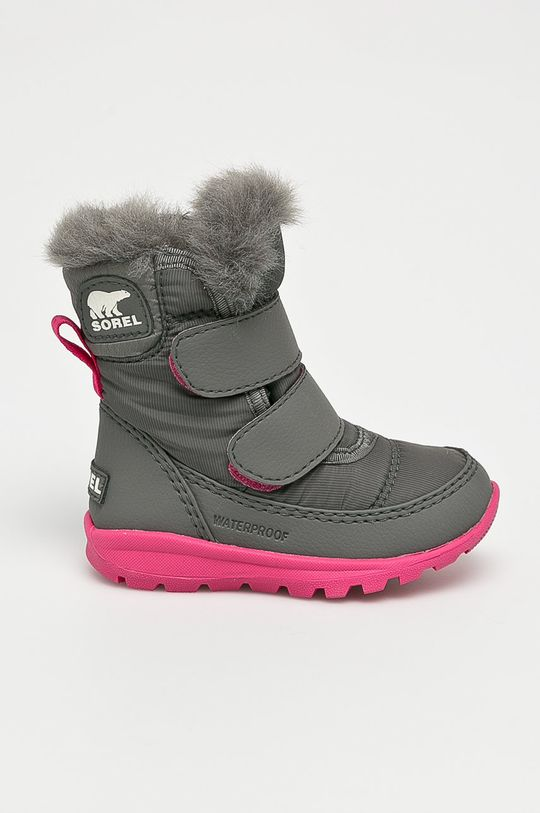 sivá Sorel - Detské topánky Chlapčenský