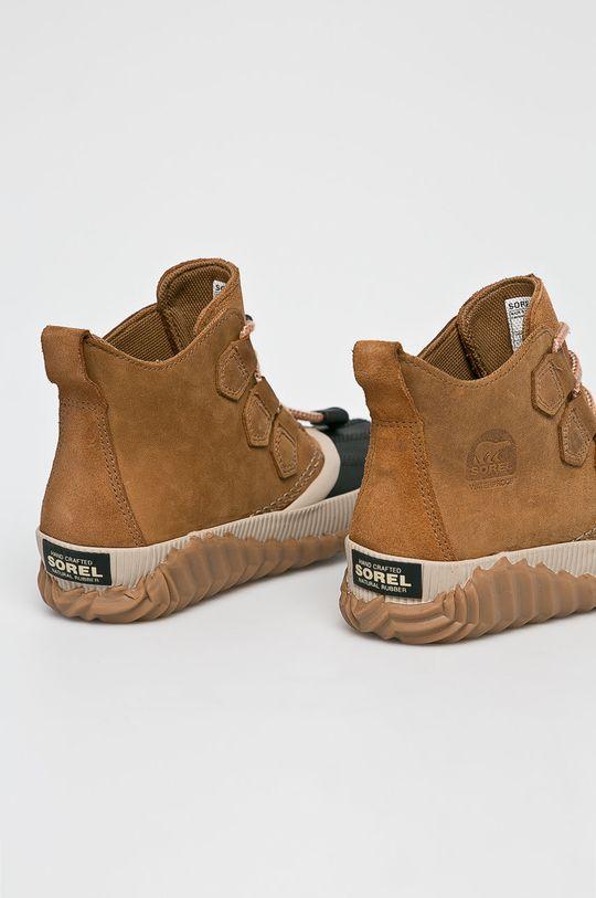 Sorel - Dětské boty zlatohnědá