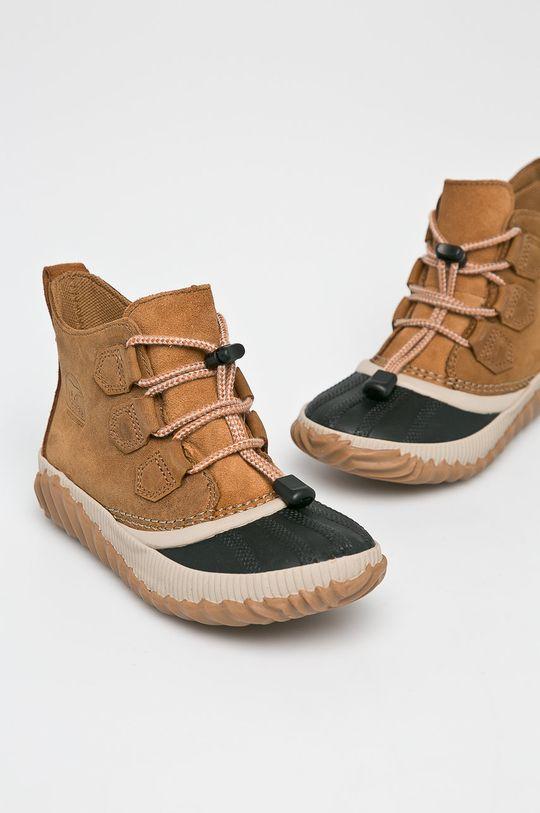 Sorel - Dětské boty Svršek: Přírodní kůže Vnitřek: Textilní materiál Podrážka: Umělá hmota