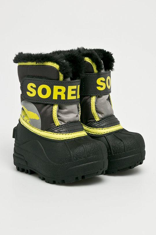 Sorel - Detské topánky Toddler Snow Commander čierna